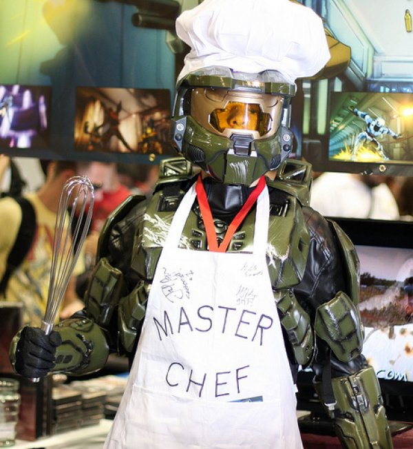Master Chief Cosplayer is a Master Chef