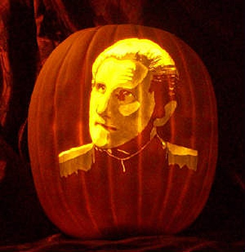 Odo DS9 Pumpkin Carving