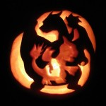 Charmander's Evolution Pumpkin Carving [pic]