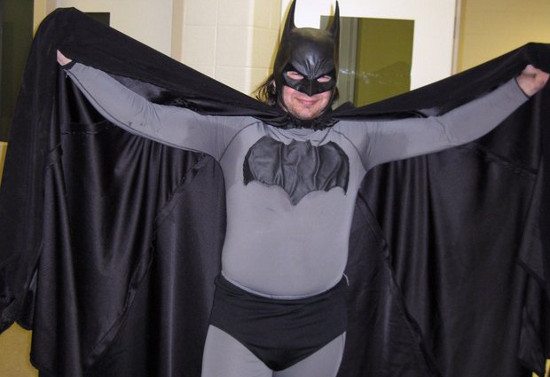 Batman Has Pit Stains