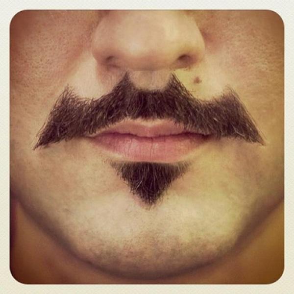 The Batman Mustache