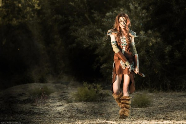 Aela the Huntress Skyrim Cosplay