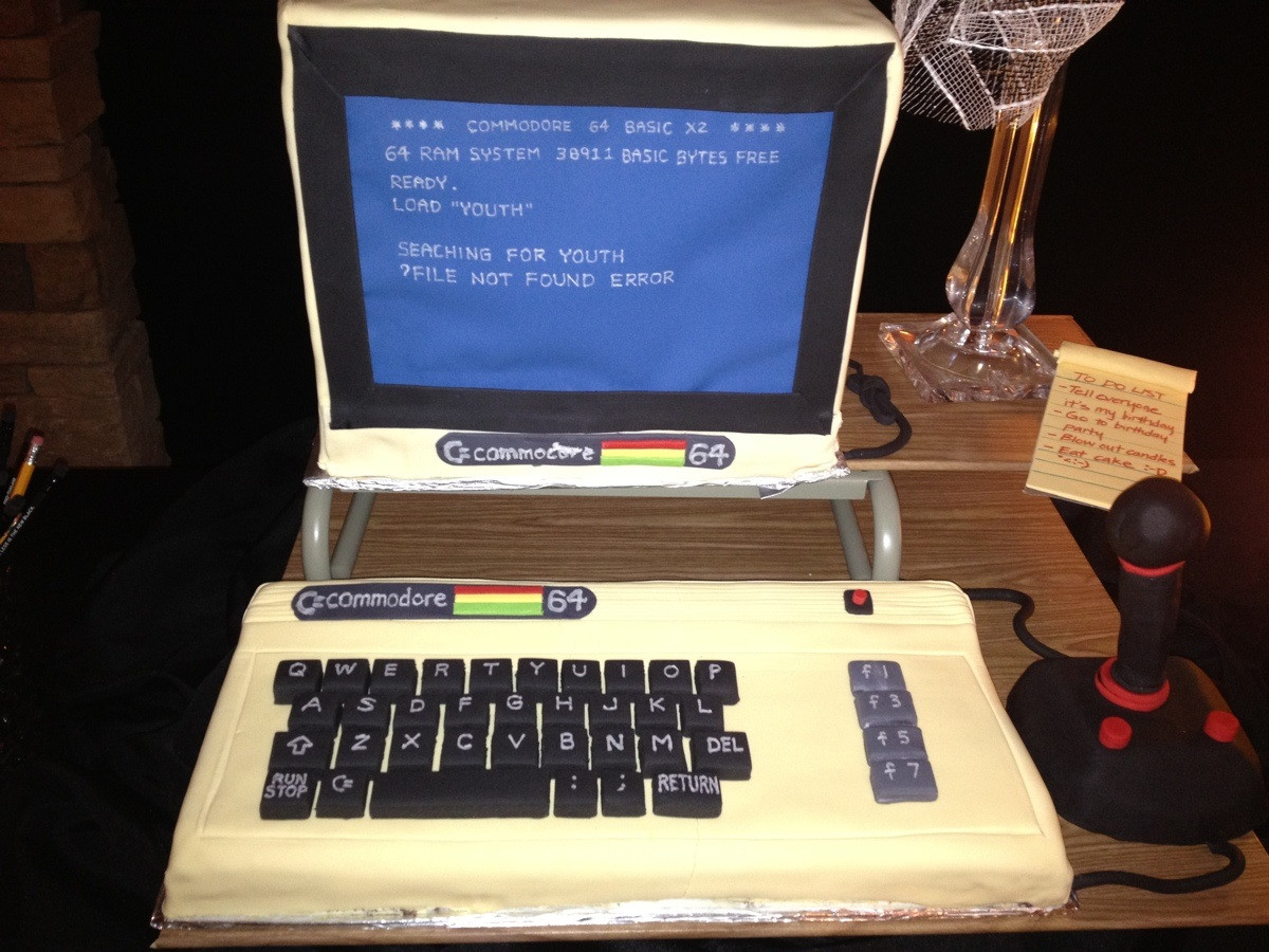 Impressive Commodore 64 Birthday Cake Pic Global Geek News