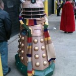 A Dalek Cosplays as the Fourth Doctor [pic]