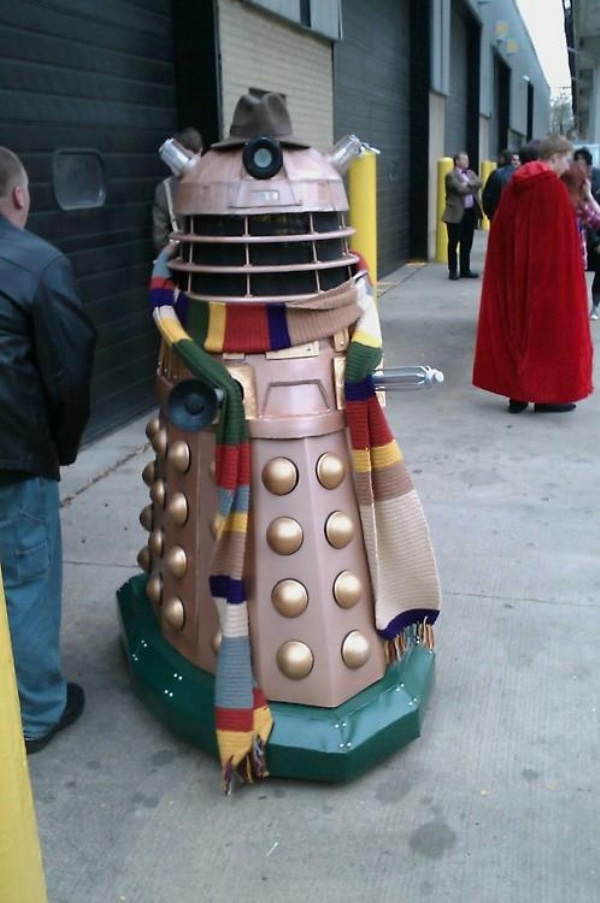 Dalek as the 4th Doctor