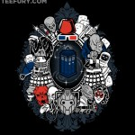 The TARDIS Has Been Framed by Bad Guys in This T-Shirt $10 Today ONLY! [pic]