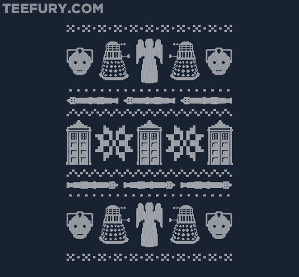 Doctor Who Winter Sweater T-Shirt