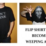 Don't Blink Weeping Angel T-Shirt Lets You Become the Angel [pic]