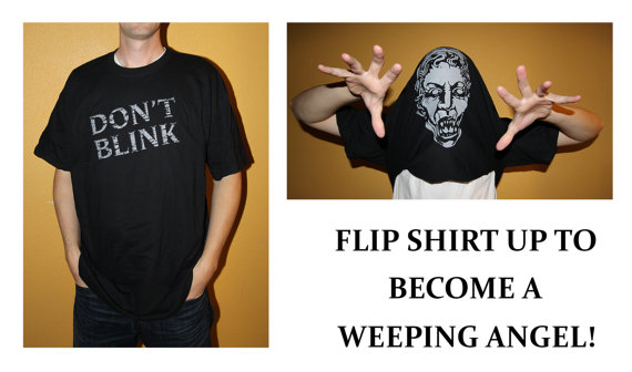Doctor Who Weeping Angel Shirt