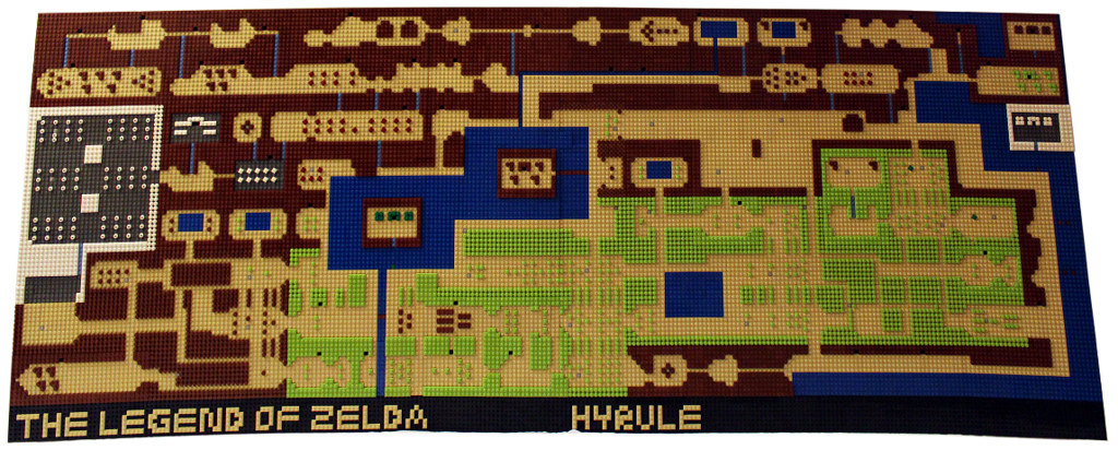 LEGO Legend of Zelda Map