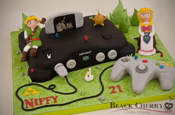Legend of Zelda N64 Cake