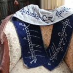 Awesome Lord of the Rings Scarf Pattern [pic]
