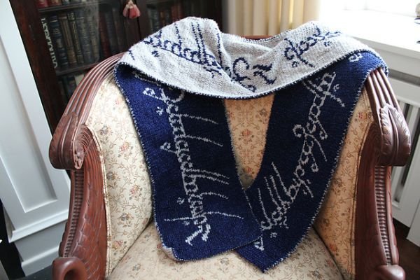 Awesome Lord Of The Rings Scarf Pattern Pic Global Geek News