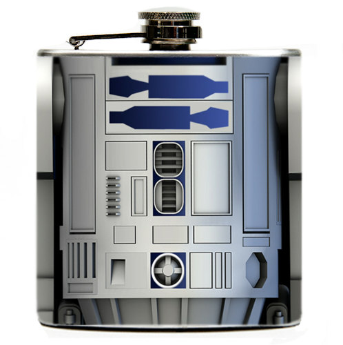 Star Wars R2-D2 Flask