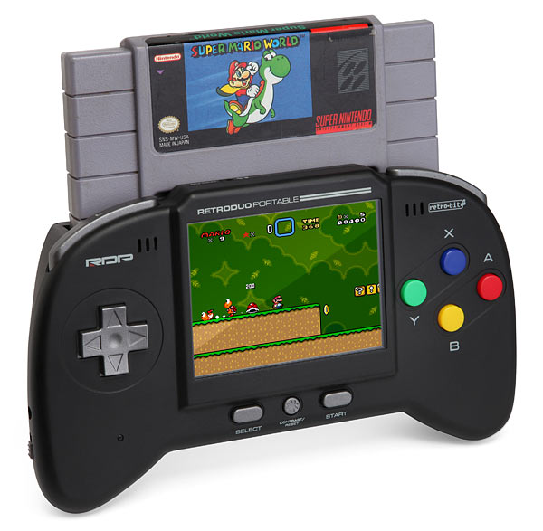Handheld NES/SNES Game System