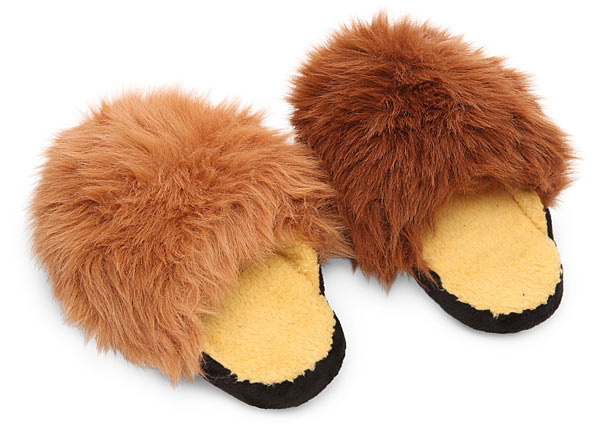 Star Trek Tribble Slippers that Purr