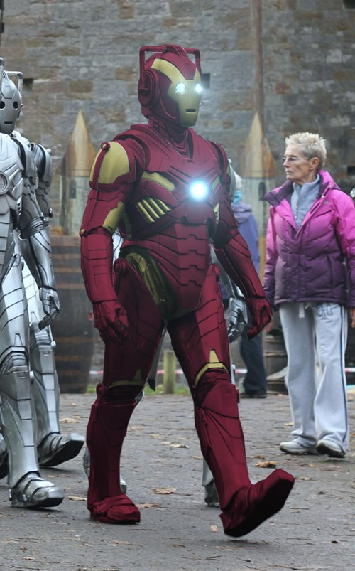 Iron Man / Cyberman Mash-up