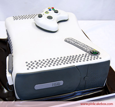Microsoft Xbox 360 Groom's Cake Top