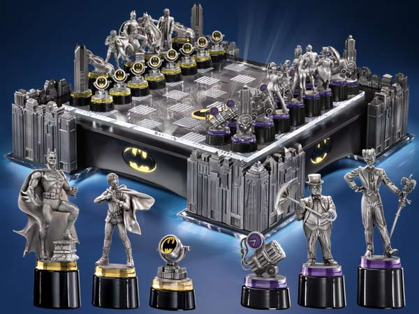 Dark Knight Chess Set