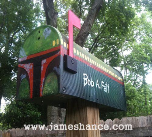 Star Wars Boba Fett Mailbox