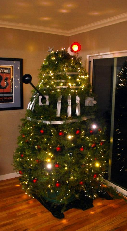 Doctor Who Dalek Christmas Tree