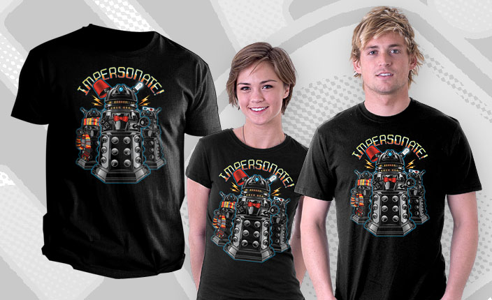 Doctor Who Dalek Impersonate Shirt