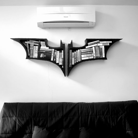 Batman Bookshelves