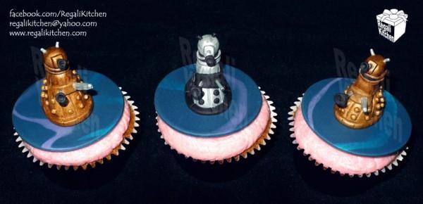 Dalek Cupcakes