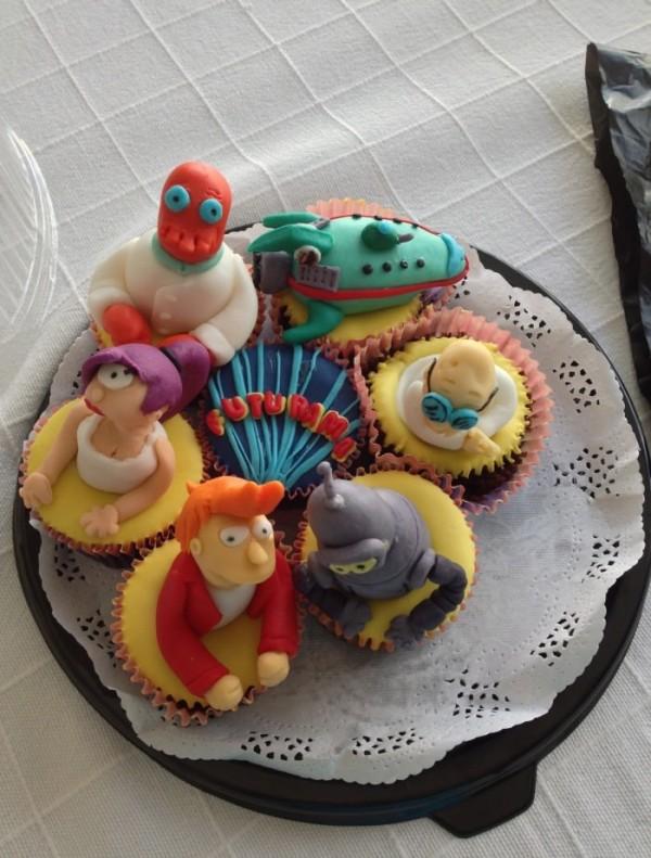 Futurama Cupcakes