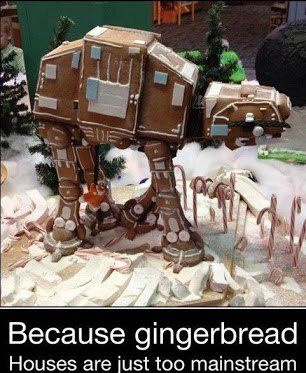 Star Wars Gingerbread AT-AT