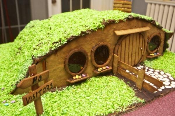 Bilbo Baggins Gingerbread Hobbit Hole