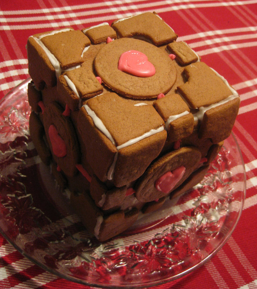 Gingerbread Companion Cube