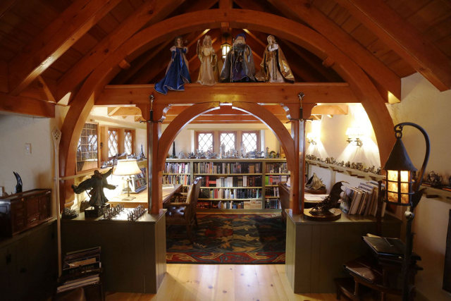 J.R.R. Tolkien Hobbit House Interior