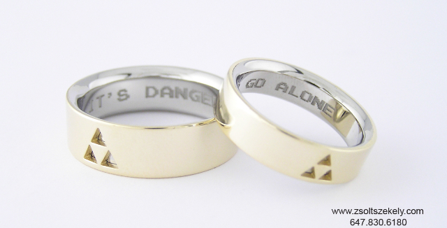 Zelda Wedding Rings
