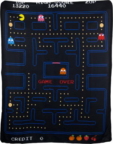 Pac-Man Blanket