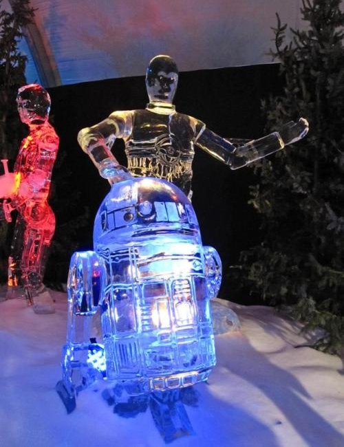 Star Wars Ice Sculptures