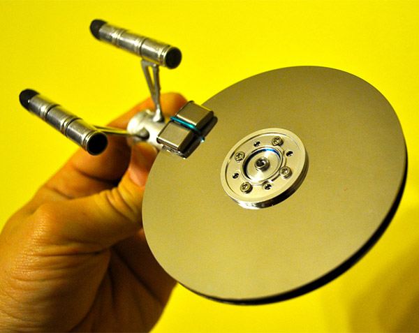 Star Trek Enterprise Hard Disk
