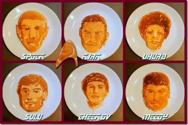 Star Trek Flapjacks