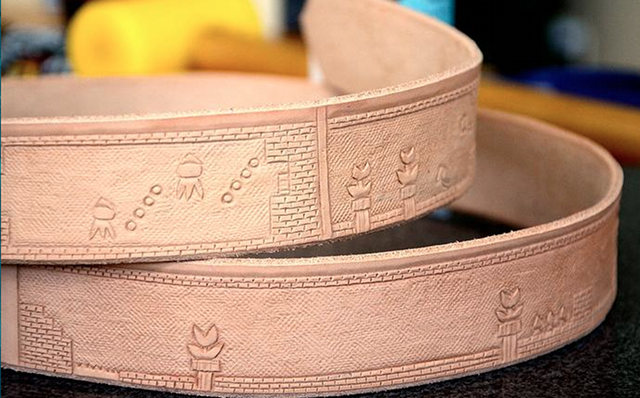 Super Mario Bros Belt Unfinished