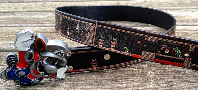 Super Mario Bros Belt