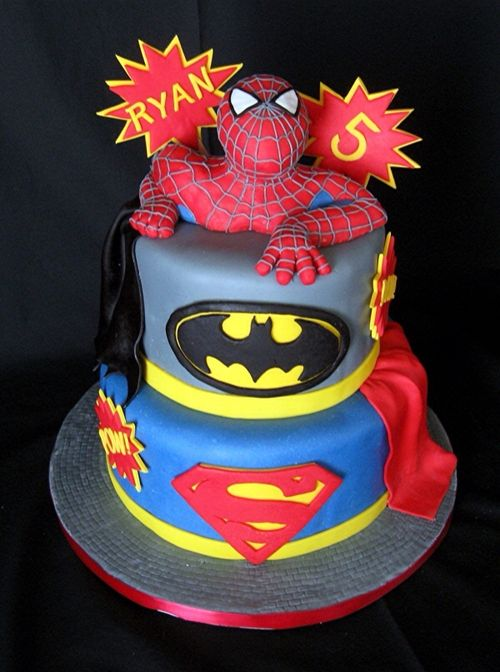Spectacular Superhero Cake Pic Global Geek News
