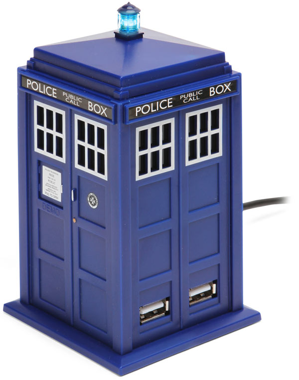 Doctor Who TARDIS 4-Port USB Hub