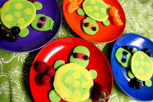 TMNT Pancakes