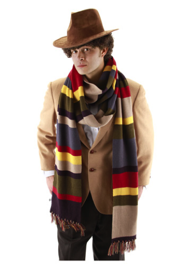 4th Doctors Scarf by HalloweenCostumes.com