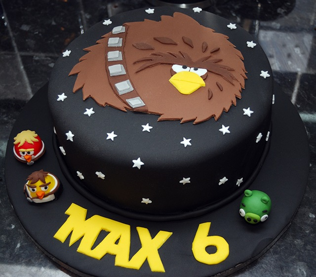 This Angry Birds Star Wars Cake Is Fantastic Pic Global Geek News