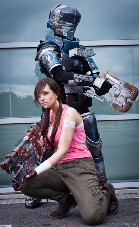 Isaac Clarke and Ellie Langford Cosplay
