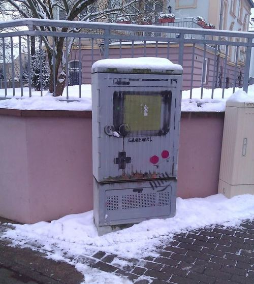 Game Boy Graffiti