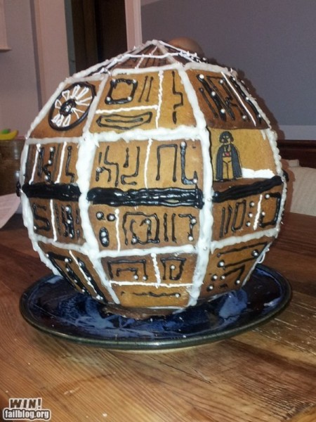 Star Wars Gingerbread Death Star