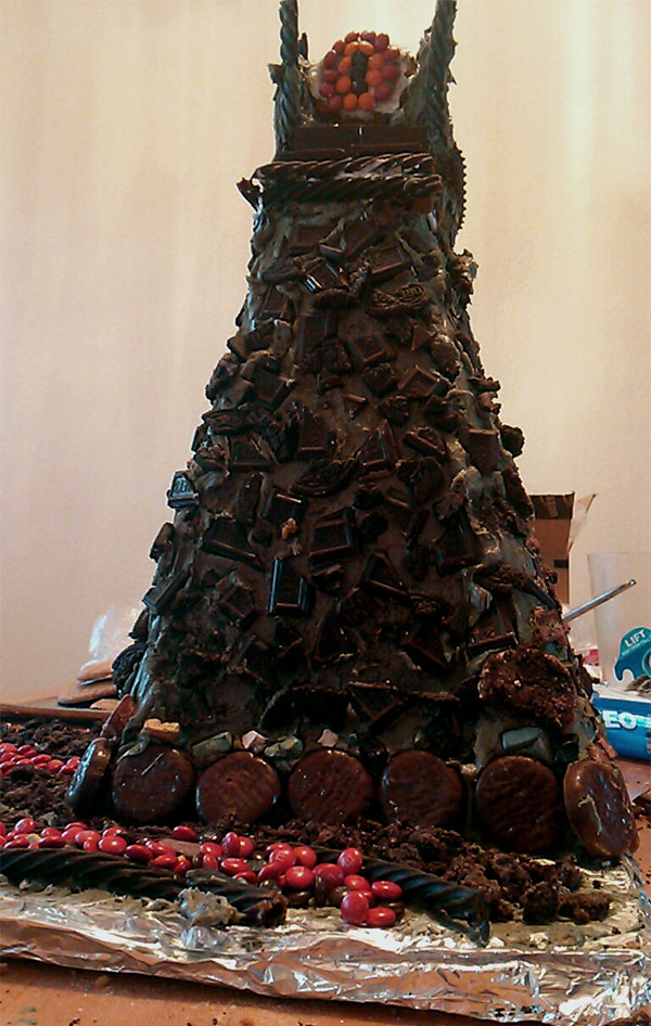 Gingerbread Dark Tower