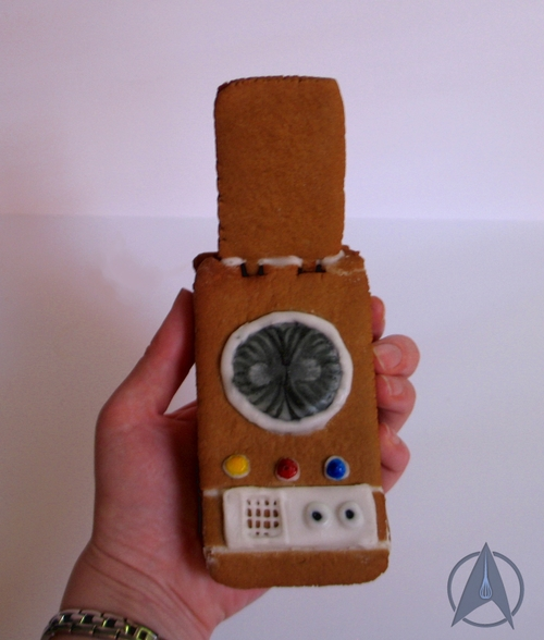 Star Trek Gingerbread Communicator